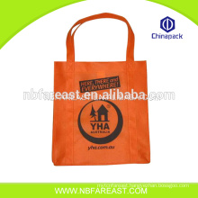 Environmental protection promotional cheap logo shopping bags