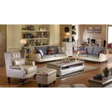 Explosion Models White Modern Leather Sofa (C024)