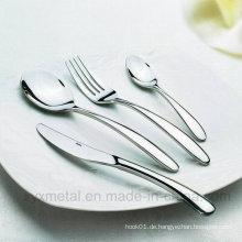 High Class 18/10 Hotel Restaurant Edelstahl Geschirr Geschirr Besteck Besteck
