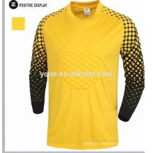 custom design bulk Long Sleeve goalkeeper jersey shirt, long sleeve football jersey,Goalkeeper equipment
