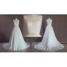 Рукавов Шифон Свадебное Платье