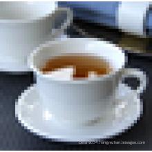 custom design porcelain tea cup and saucer