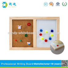 combination dry erase whiteboard and cork board with SGS