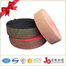 Bande élastique tissée par métal métallique de catégorie de stabilité 3-4 de couleur qui respecte l'environnement pour le vêtement