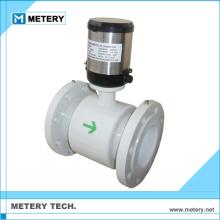 Preço sensor de medidor de fluxo eletromagnético acrílico