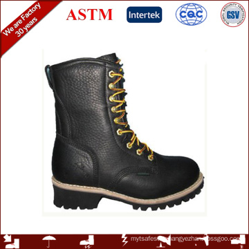 GOOD YEAR WELTED LOGGER BOOTS WITH STEEL TOE WORK BOOTS