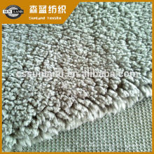 100% polyester molleton sherpa pour capuche hiver