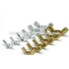color plated wing nut,stainless steel wing nut, wing nut high quality