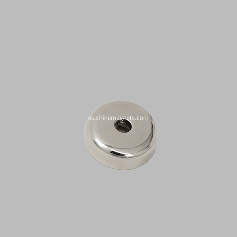 round pot magnet countersunk hole
