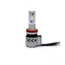 G8 Car Led Headlight 6000LM 6500K XHP50 Single Beam H7 9005 9006 9012 H8 H11 H16 With Trubine Fan