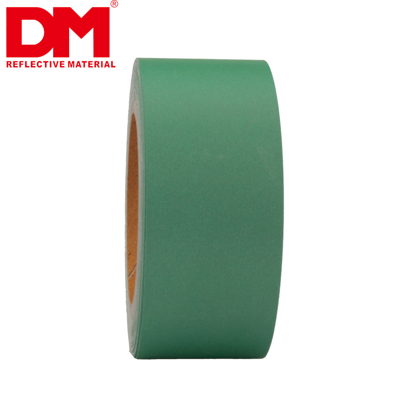 Green Reflective Fabric Tape