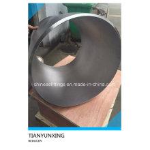 ASTM B16.9 Aço Inoxidável Seamless Eccentric Reducer