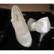 New Design Ladies High Heel Wedding Dress Stiletto (HCY02-1490)