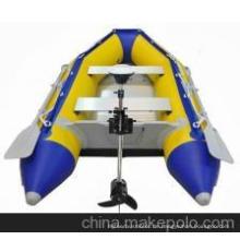 2 Personen Kleine aufblasbare Ruderboot zum Angeln