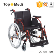 Cheap Price Comfortable Aluminum Foldable Wheelchair for Disabled