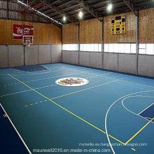 China Facroty Venta PVC Deportes Pisos para cancha de baloncesto