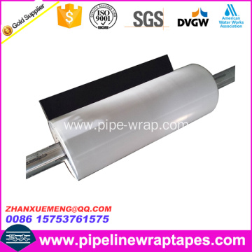 PE outer wrap tape for pipe anticorrosion