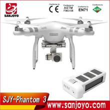 DJI Phantom 3 Advanced 4K Video UAV drone rc con cámara Live HD View rc quadcopter