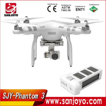 DJI Phantom 3 Avancé 4K vidéo UAV rc drone avec caméra Live HD Voir rc quadcopter