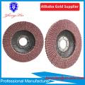 Disque à lamelles abrasives en alumine Disque à lamelles en acier inoxydable 60 grain