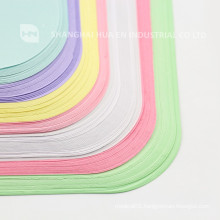 colorful medical dental paper tray cover