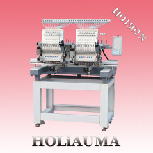 HOLiAUMA Меньше 2 Головки Компьютерная Вышивальная Машина DAHAO на продажу