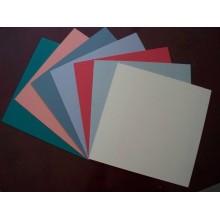 Plain PVC piso baldosas 600 * 600 * 2.0 mm