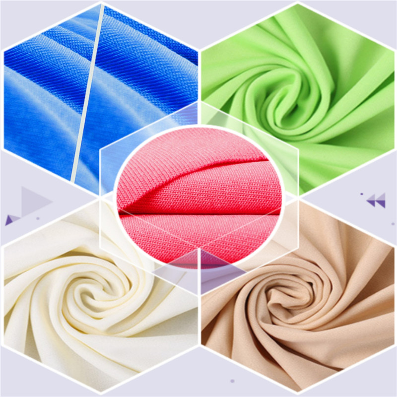 Breathable Fleece Smooth Milk Silk Stretch Brushed Fabrics 4