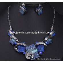 Ensemble de bijoux en pierre / ensemble de bijoux de mode (XJW13203)