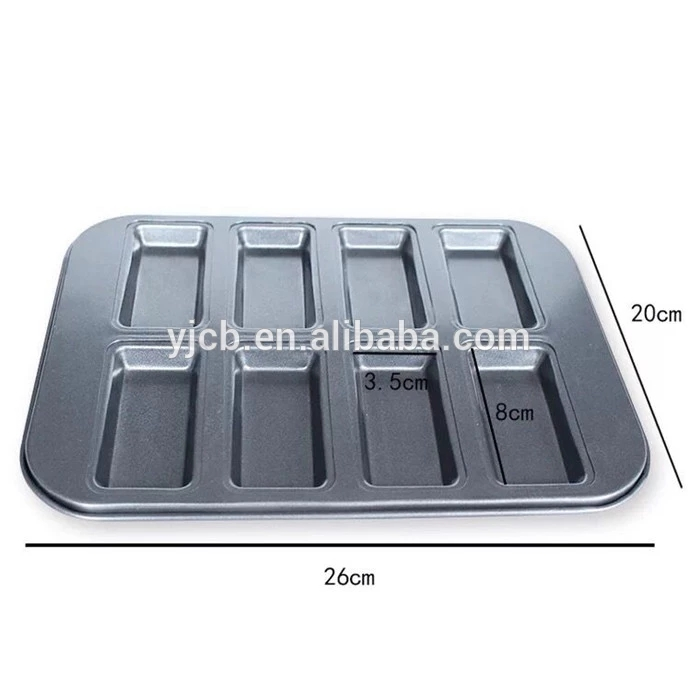 8 Cup Rectangle Cake Mold