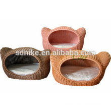 the latest hot sale lovely rattan pet cage