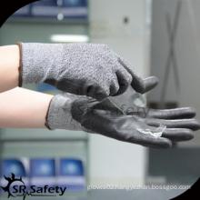SRSAFETY cut resistant work glove/glass anti-cut manufacturing glove