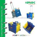plastic roller shopping trolley