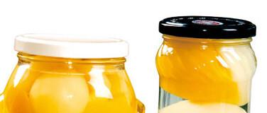 Glass Jar Canned Fruit Metal Lug Making Machine Twist off cap Glass Jar Canned Fruit Metal