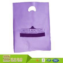Écologique échantillon matériel gratuit offre logo personnalisé imprimé sacs en plastique cadeau guangzhou