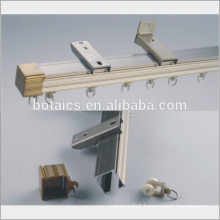 hotel decoration projects aluminum alloy curtain track /curtain rail
