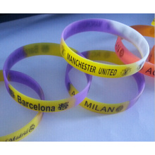 Top Quality Promotional Printing Silicone Wristband