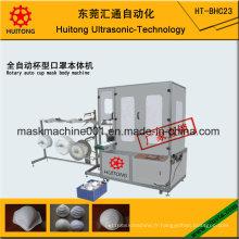 Masque jetable non-tissé médical de la poussière N95 de tasse ultrasonique faisant la machine