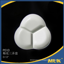 manufactures of Custom fine travel ceramic round small plate