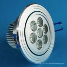 Downlights à LED haute puissance 7W