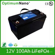 Deep Cycle LiFePO4 12V 100ah Battery for Camper Van
