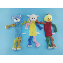 Long Leg Cutton Rope Lamb Toy for Pets Playing