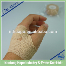 bandagem elástica não tecida autoadesiva para o cuidado de feridas