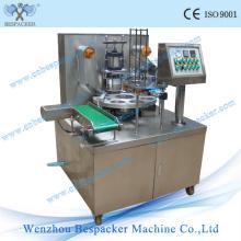Máquina giratória do café da cápsula do tipo para o pó