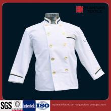 Beliebte Polyester / Baumwolle 65/35 Chef Stoff