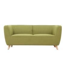 Sofá de tecido quente de 3 lugares para móveis de sala de estar