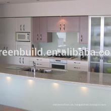 Gabinete de cocina de madera Diseños simples para Villas