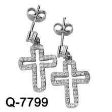 Pendiente cruzado de ajuste de plata de ley 925 (Q-7799)