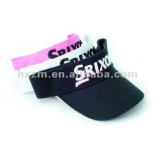 3D Cotton Sports Sun Visor Cap