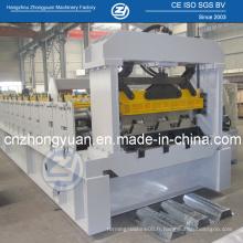 Machine de formage de rouleaux de plancher galvanisé